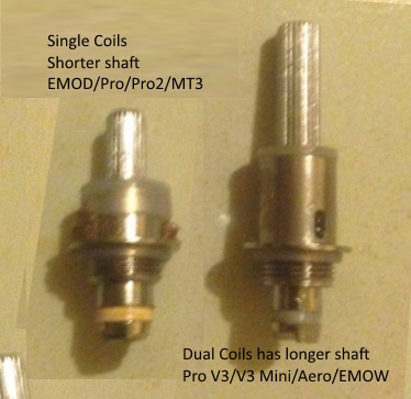 Guide Kanger Replacement Coil Heads